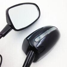 LED Turn signal Black mirror For kawasaki Ninja 500 1994-2008 ZZR600 2003-2008