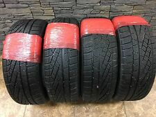 set of 4  225/50R17 Pirelli Sottozero Winter Series 2 98H 225 50 17 Tires 8/32nd