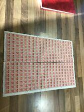 Burma 1945 KGVI 1PIE Overprinted MILY ADMIN - Full Sheet 320 MNH 111 B