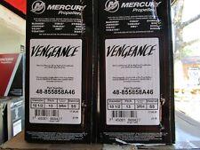 Mercury Vengeance Propeller 48-855858A46 13 pitch 10 1/2 diameter SS right hand