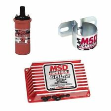 MSD 9952 Ignition Kit - 6421 Digital 6AL-2 Ignition Box With 8202 Coil & Bracket
