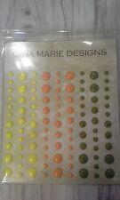 Gina Marie designs TROPICAL ISLAND COLORS Enamel Dot Embellishments