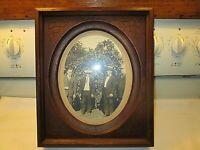 Vintage Black Walnut victorian frame