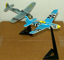 WW II Inspired FIGHTER PLANES TOY Figure CAKE TOPPER FIGURINE w/ Stand Lot #1