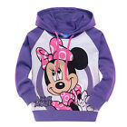 Kids Mickey Mouse Sweater Sweatshirt Hoodies Girls Boys Cartoon Jumper Tops Coat