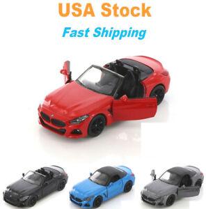 BMW Z4 Hardtop, Kinsmart, Diecast Model Toy Car, 5'', 1:34, 4 colors