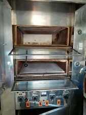 Forno elettrico professionale ideale per pizzeria e pasticceria. N° 2 camere