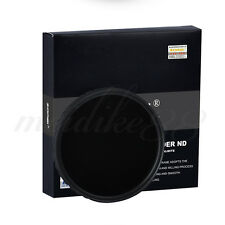 Zomei 77mm Ultra Slim Multi-Coated 18 layers HD ND2-400 Fader Variable ND Filter