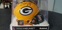 Paul Hornung Packers Legend Signed Autographed Riddell Mini Helmet JSA COA!