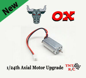 Ox 050 Brushed Axial 1/24 scale BOLT IN Motor Upgrade Free Ship! Barrage SCX24