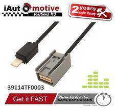 Ipod AUX USB Cable Adaptador Música Para Honda Jazz Civic Iphone 6 8 X 7