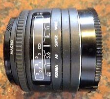 Sigma Super-Wide 24mm f/2.8 Lente Af Para Minolta y cámaras de montaje un Sony Alpha