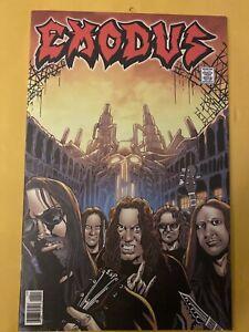 Exodus Heavy Metal Rock & Roll Biographies Comic Book - RARE OOP Thrash Metal
