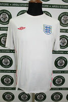 Maglia calcio INGHILTERRA ENGLAND TG L shirt trikot camiseta jersey maillot