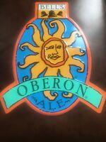 New- Bell's brewery Oberon beer tin tacker sign. Man cave decor.