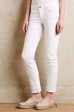 NWT LEVEL 99 LILY SKINNY STRAIGHT OPTIC WHITE JEANS 31