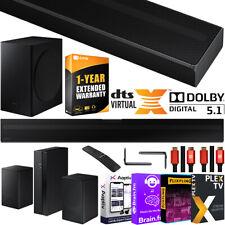 Samsung HW-Q60T 5.1ch Acoustic Beam Soundbar + Rear Speakers Surround Sound Kit
