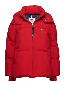 Tommy Hilfiger Tommy Jeans Oversized Puffa Winterjacke in Blau oder Rot