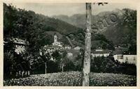 Cartolina di Moggio, campanile e panorama - Lecco, 1948