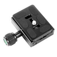 Aluminum 60mm QR Clamp +QR60 Fastener Plate for Arca-Swiss Ball Head DSLR Camera