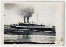 "Photograph of Clyde Steamer ""Duchess of Argyll"" with Tartan Lums (C31848)"