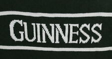 Guinness Official Mens Green Beer Sweater White Letters Size XXL EUC