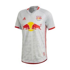 Adidas MLS New York Red Bull Jersey 2019 Grey/Red FS5134