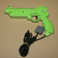 Rare Genuine Green Hyper Blaster Konami SLUH-00017 Playstation | Made in Japan