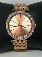 Michael Kors MK3191 Men's Stainless Steel Analog Gold Dial Quartz Watch HO264