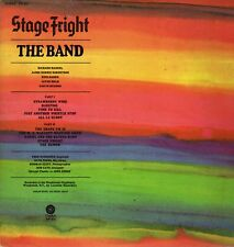 The Band Vinyl LP Capitol Records 1970, SW-425, Stage Fright ~ Very Good