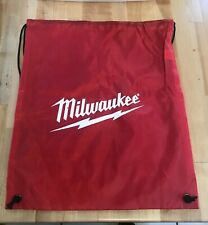 "Milwaukee Backpack - Nylon String Sack Style 14"" x 18"""