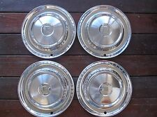 "1957 DODGE Coronet Lancer 14"" HUBCAP HUB CAP WHEEL COVER, SET OF FOUR"