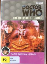 New DOCTOR WHO The Keeper of Traken dvd Tom Baker 4th dr Master Nyssa intro