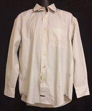 NWT Men's Nautica Long Sleeve Button Down Pinstriped Shirt Large