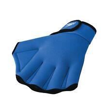 Speedo Swimming Aqua Fit Training-Exercise Swim Gloves Large Royal