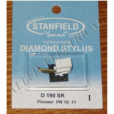 Pioneer PN10, PN11 Compatible Turntable Stylus - Stanfield Part # D190SR
