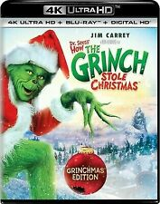 Dr. Seuss' How the Grinch Stole Christmas (4K Ultra HD 1-DISC) NO DC OR STND BR