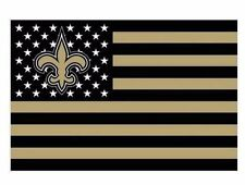 New Orleans Saints 3x5 Ft American Flag Football New In Packaging