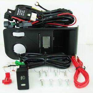 For 2014 2015 2016 GMC Sierra 1500 Fog Light Switch, Wiring, Switch Panel, Relay