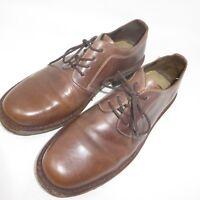 Bass JD Series Fairmount Oxfords Mens 10.5 D Size Brown Leather Lace-Ups Shoes