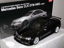 MERCEDE BENZ CLK-DTM AMG COUPE BLACK KYOSHO 1:18