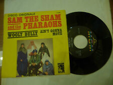 "SAM THE SHAM&PHARAONS""WOOLY BULLY -disco 45 giri MGM It 1967"""