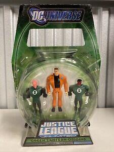 DC Universe Justice League Unlimited Green Lantern Origins Hal Jordan, Sinestro