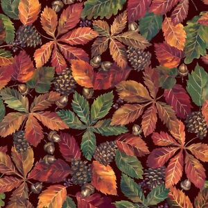 Autumn Collection Quilt Fabric by Fabriquilt