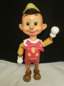 """10"""" Antique Composition  Doll   Pinocchio  WALT DISNEY  IDEAL  JOINTED"""