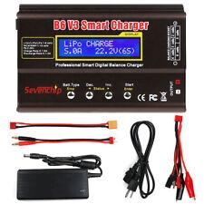 For RC LiPo NIMH Battery B6 V3 Smart Balance Charger 80W Digital Discharger US