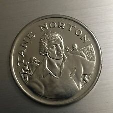 Tane Norton New Zealand Rugby 15 Great All Black Captains Medal (324/2798C7)