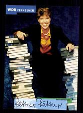 Bettina Böttinger WDR Autogrammkarte Original Signiert # BC 59299