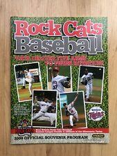 VINTAGE 2009 NEW BRITAIN ROCKCATS SOUVENIR PROGRAM TWINS Rock Cats Connecticut