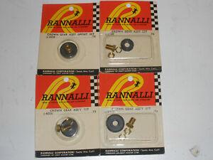 Lot of 4 NIP Rannalli Crown gears quick-lock